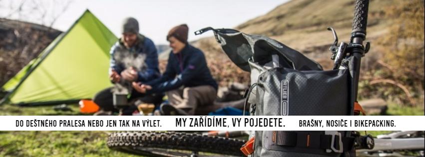 Cestování a bikepacking, brašny a nosiče.