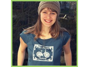 T shirt Art Bikeau woman