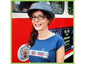 T shirt tram woman 600x600