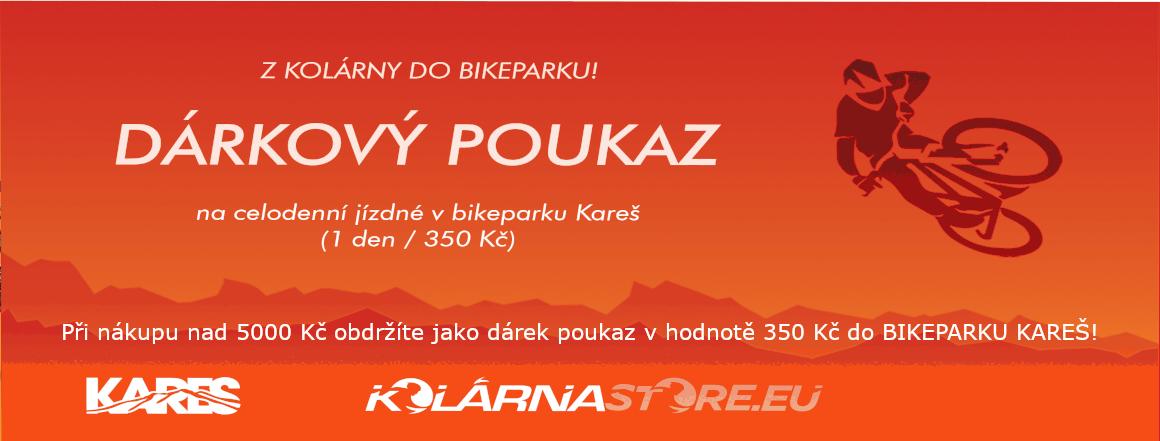 Dárkový poukaz Kareš BIKEPARK