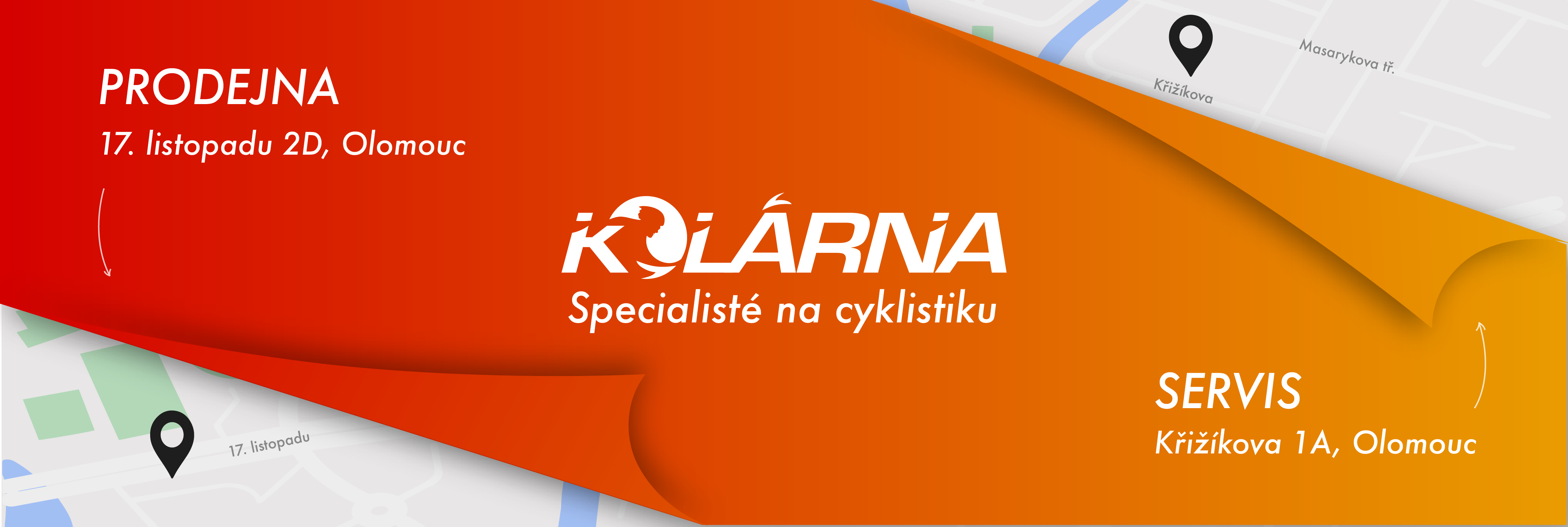 KOLÁRNA – specialisté na cyklistiku