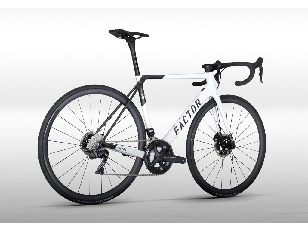Factor O2 Pearl White Disc- SRAM Force AXS