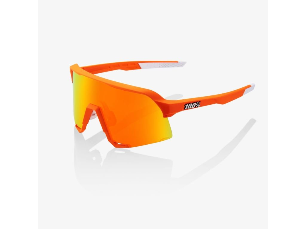 s3 neon orange hiper red multilayer mirror lens