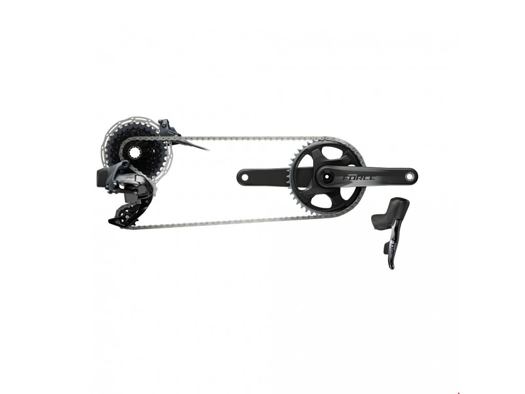 SRAM  FORCE AXS 1X GROUPSET HRD F