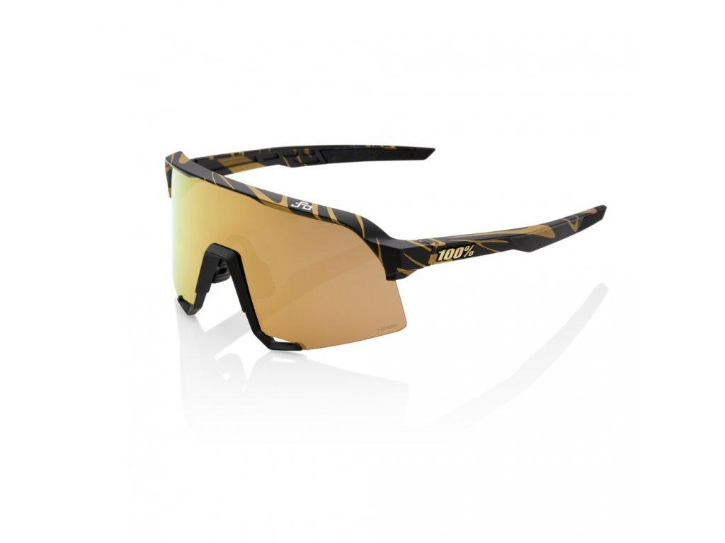 s3 peter sagan le metallic gold flake hiper gold mirror lens