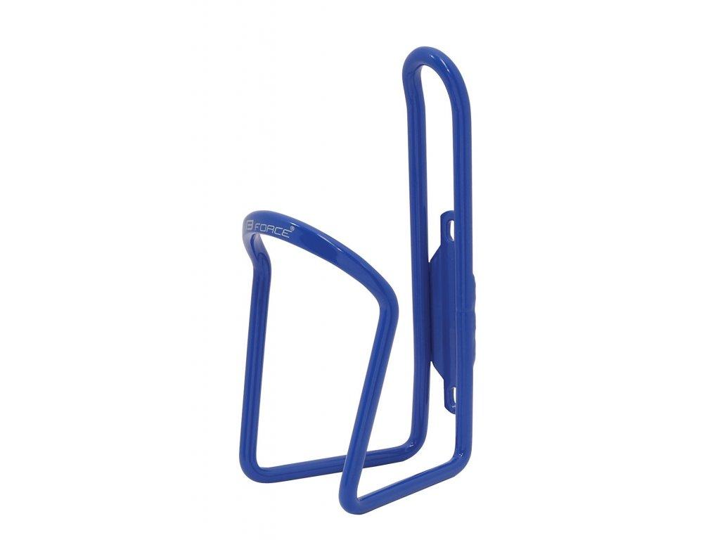 košík láhve FORCE KLAS Al, modrý lesklý