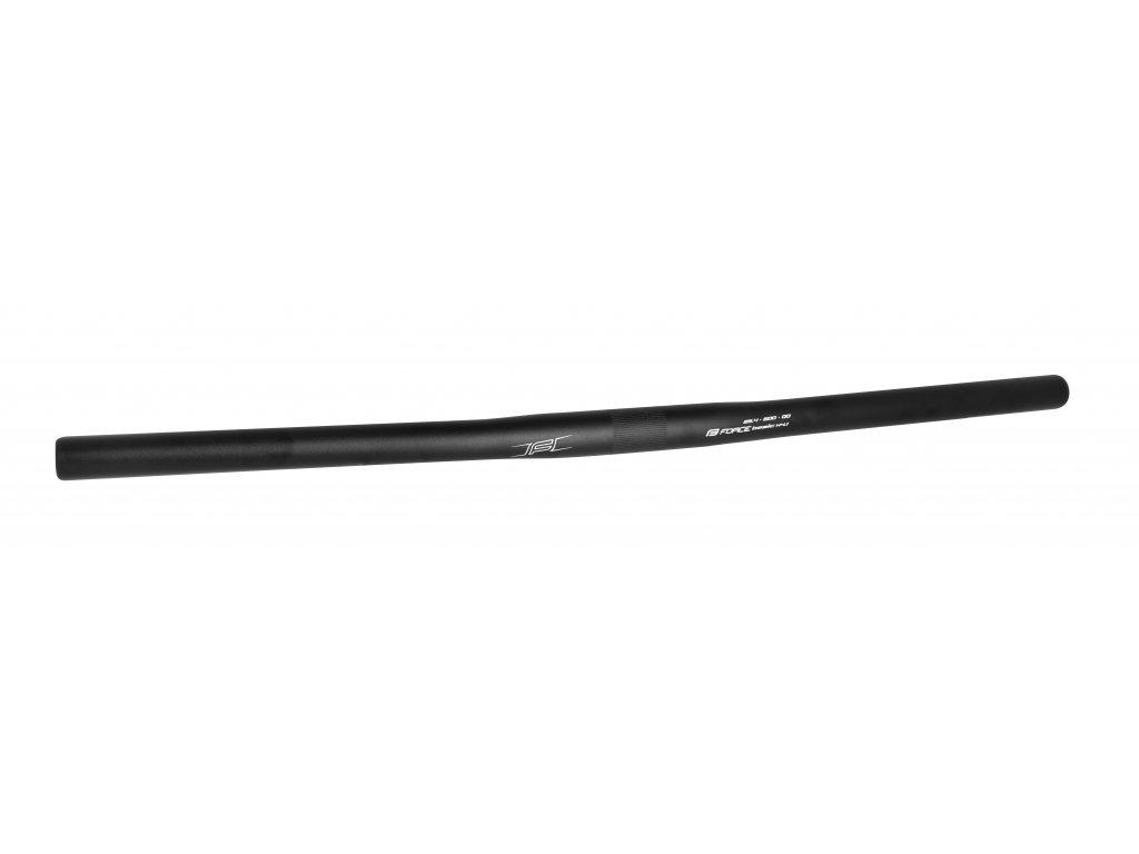 řídítka F BASIC H4.1 rovné 25,4/600mm Al,černé mat