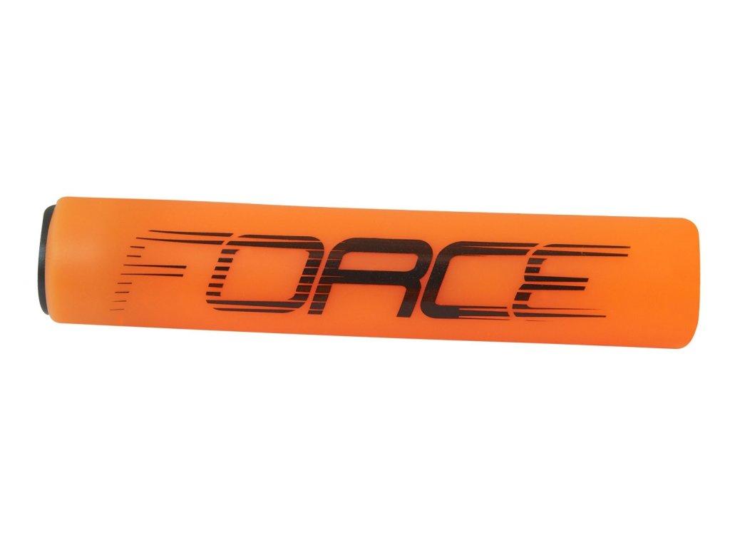 madla FORCE SLICK silikonová, oranžová, balená