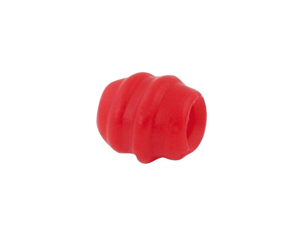 chránič bowdenu silikonový FORCE sada 20ks,červený