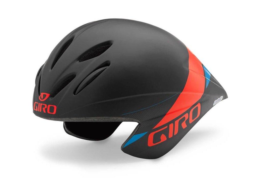 giro advantage helmet matt black glowing red EV227695 8530 1
