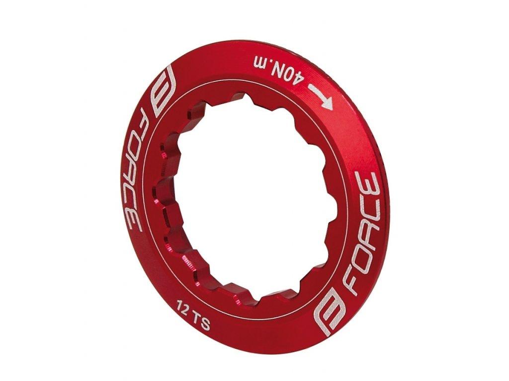 matice pojistná FORCE na kazetu 12 z, červená