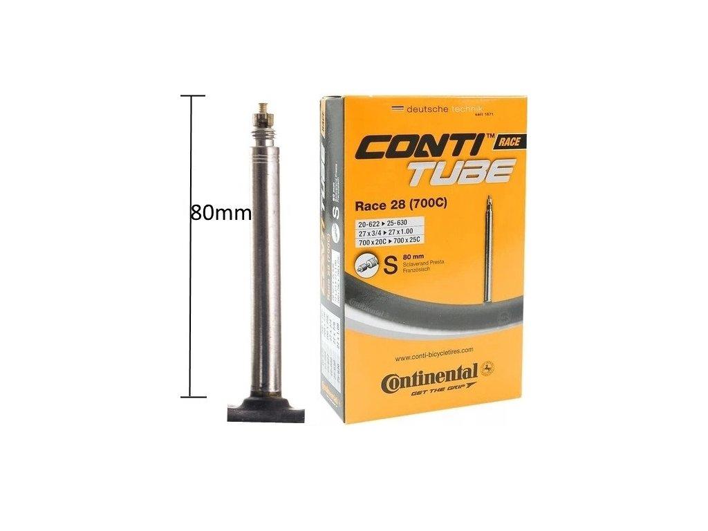 DETKA CONTINENTAL Race 28 700x20 25 PRESTA 80mm