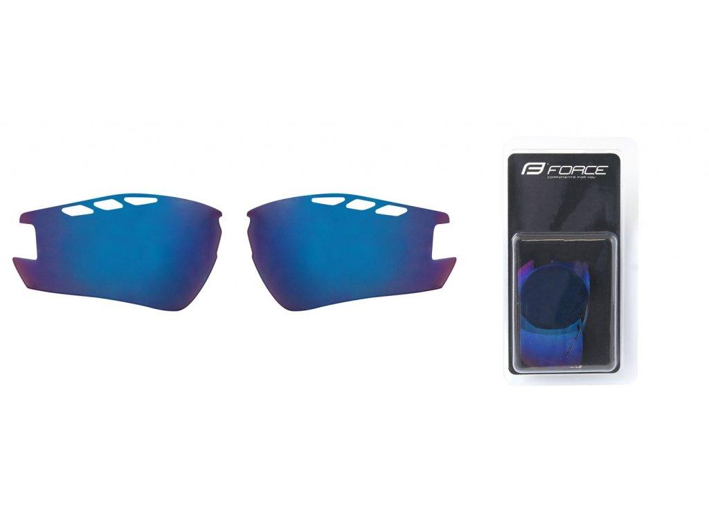 skla náhradní RIDE PRO , modrá laser