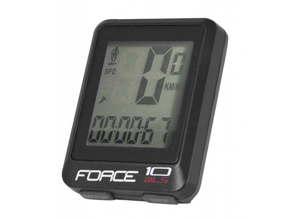 počítač FORCE WLS 10 funkcí bezdrát, černý