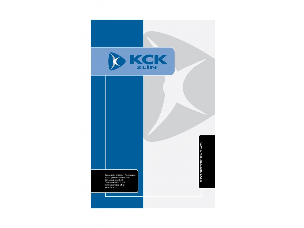 karta KCK VELKÁ balící 12 x 20 cm