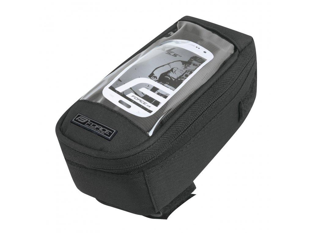 """brašna na rám FORCE PHONE XL 5,5"""" vrchní, černá"""