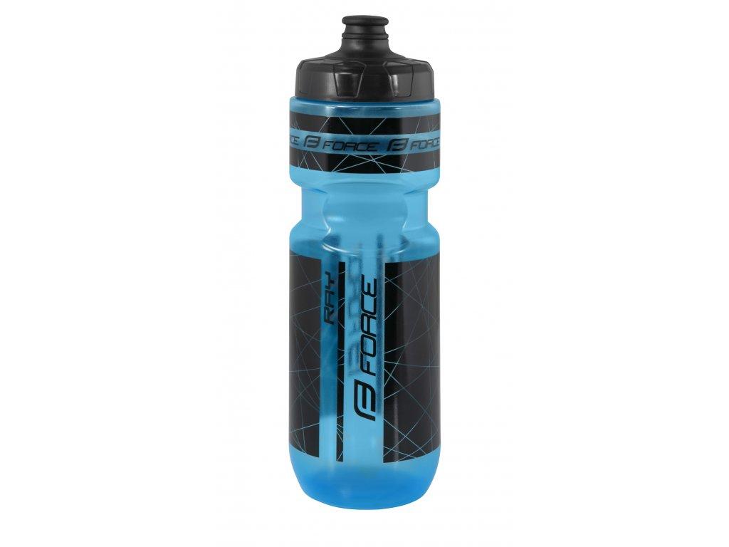 láhev FORCE RAY 0,75 l, transparentní modrá