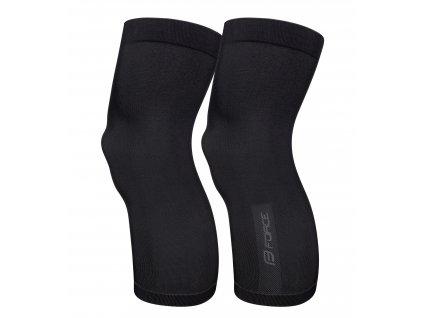 návleky na kolena F BREEZE pletené, černé M-L