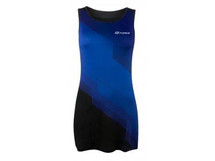 šaty sportovní FORCE ABBY, modro-černé L