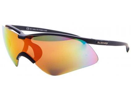 sluneční brýle BLIZZARD sun glasses PC406112, rubber black, 139-30-136