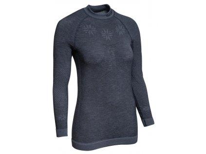 funkční triko BLIZZARD Viva long sleeve, merino wool, anthracite