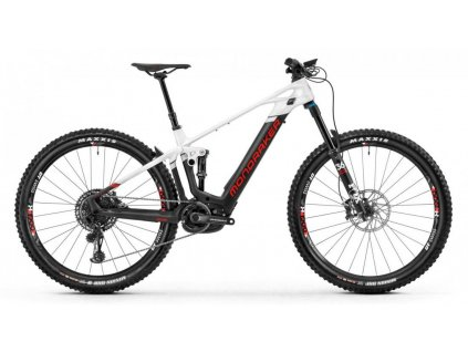 horské kolo MONDRAKER Crafty Carbon R, carbon/white/flame red, 2020