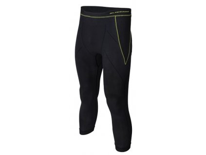 funkční kalhoty BLIZZARD Mens long pants, anthracite/neon yellow