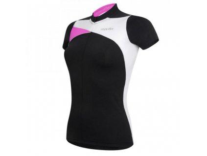 dres RH Trinity W Jersey, black/white/deep pink, AKCE