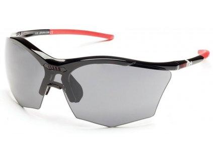 sluneční brýle RH Ultra Stylus, black/grey, grey+orange lens