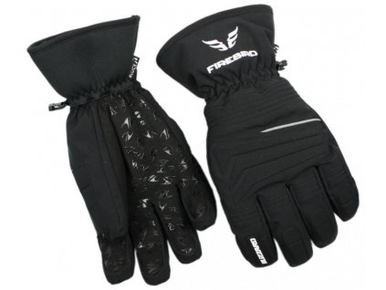 lyžařské rukavice BLIZZARD Firebird ski gloves, black