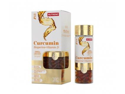 CURCUMIN + BIOPERINE + VITAMIN D