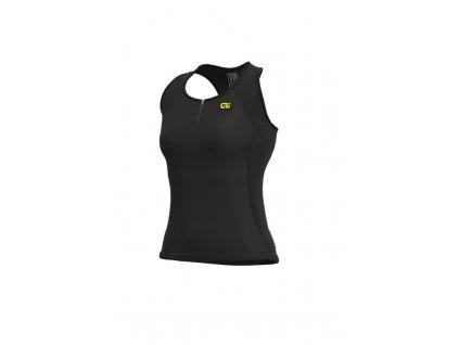 Letní cyklistický dres ALÉ SOLID COLOR BLOCK LADY