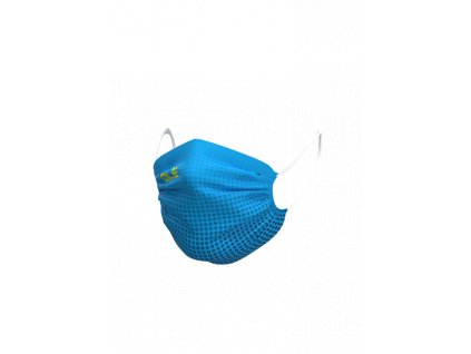 Face mask ALÉ HIVE azuro blue