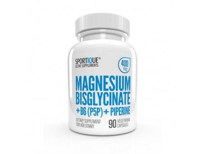 sportiqee magnesium bisglycinate b6 piperine 400mg