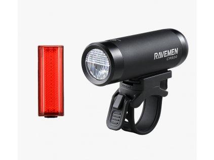 Set světel přední CR500 + zadní TR20