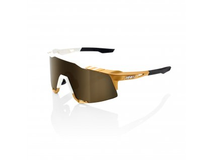 Speedcraft Peter Sagan LE White Gold Soft Gold Mirror Lens + Clear Lens