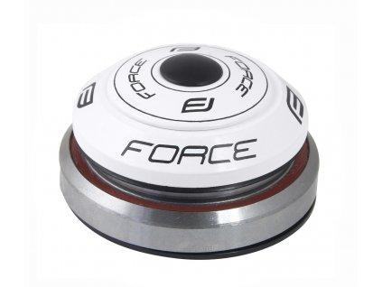 """řízení FORCE TAPER 1 1/8""""-1 1/2"""" integrov. bílé"""