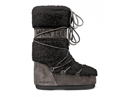boty MOON BOOT WOOL, 002 anthracite