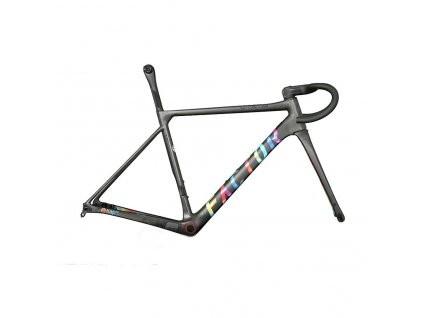 White background Attaquer Tie dye VAM frameset Disc 180