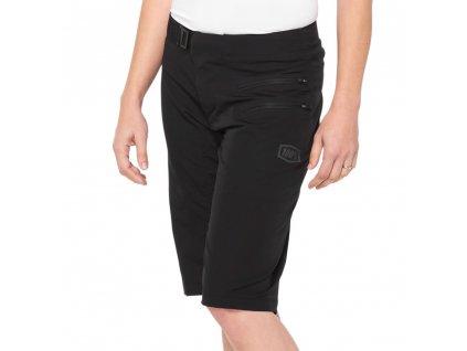 airmatic womens shorts black