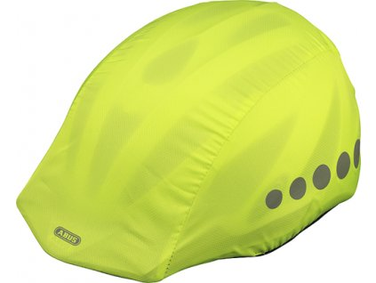 Pláštěnka na přilbu Yellow