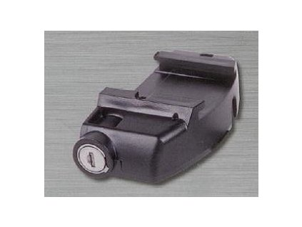 GT1 zámek baterie černý