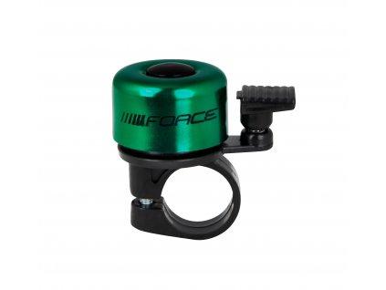 zvonek F MINI Fe/plast 22,2mm paličkový, zelený