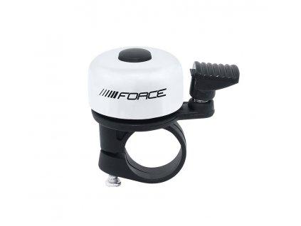 zvonek F MINI Fe/plast 22,2mm paličkový, bílý