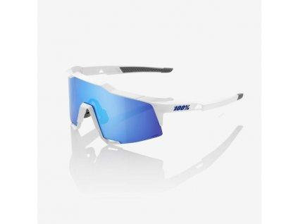 speedcraft matte white hiper blue multilayer mirror 1