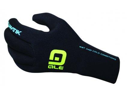 Zimní voděodolné cyklistické rukavice ALÉ KLIMATIK Neoprene