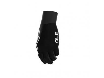 Podzimní cyklistické rukavice ALÉ Spiral Design