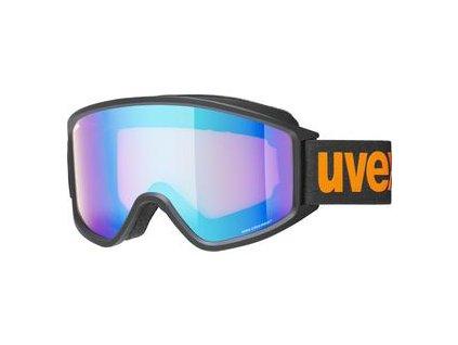 lyžařské brýle UVEX G.GL 3000 CV, black mat SL/blue-orange (2130)