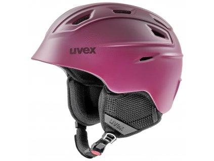 helma UVEX FIERCE, berry mat (S566225930*)