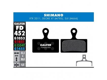 galfer shimano fd452